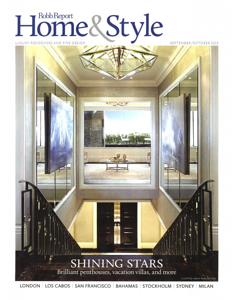 Robb Report Home & Style Sep Oct 2013